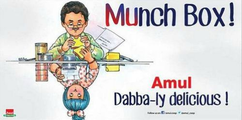 Amul Lunch Box- Irrfan Khan