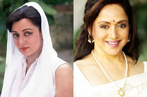 Hema Malini Then and Now - Copy