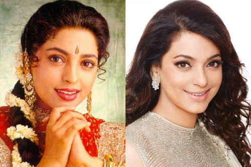 Juhi Chawla Then and Now