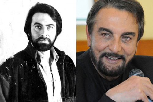Kabir Bedi Then and Now