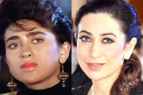 Karisma Kapoor Then and Now