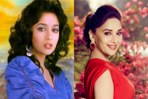 Madhuri Dixit Then and Now