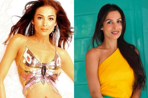 Malaika Arora Khan Then and Now
