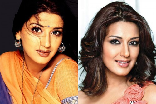 Sonali Bendre Then and Now