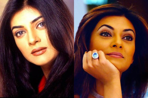 Sushmita Sen Then and Now