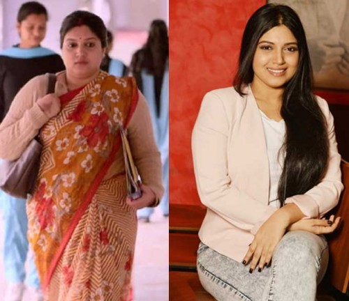 Bhumi Pednekar Weight Gain for Movie Role