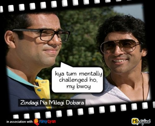Bollywood Dialogues We Use In Our Life 6