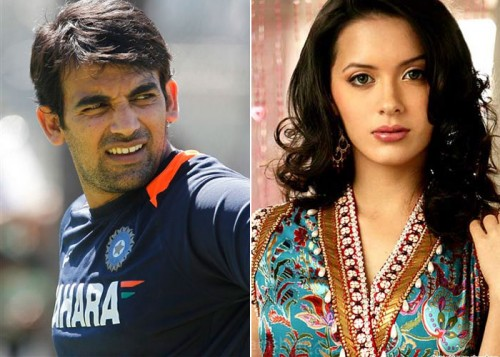 Isha Sharvani and Zaheer Khan - Bollywood Actresses and their Cricketer Link Ups