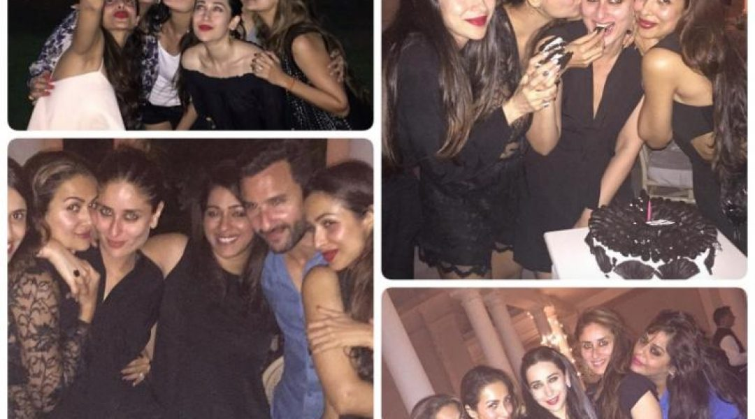 Photos: Kareena Celebrates Birthday with Saif and Friends