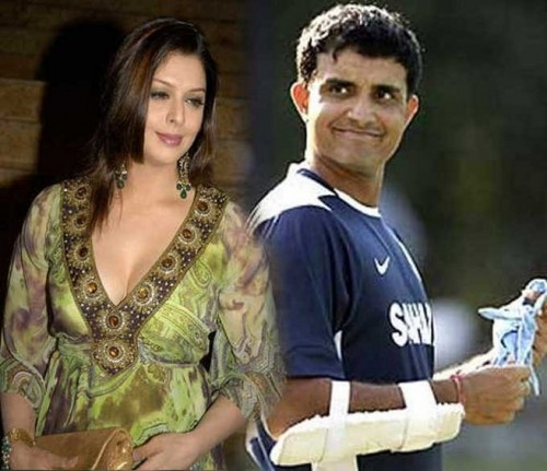 Nagma and Sourav Ganguly - Bollywood Actresses and their Cricketer Link Ups