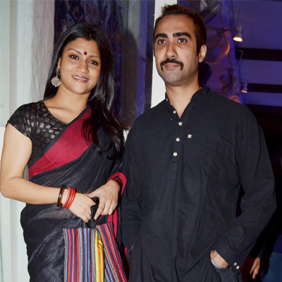 Ranvir Shorey and Konkona Sensharma