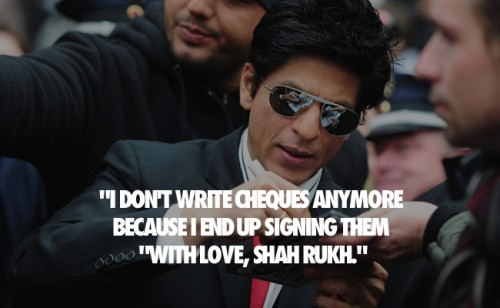 SRK Witty Quotes 05
