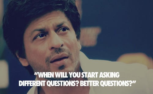 SRK Witty Quotes 10