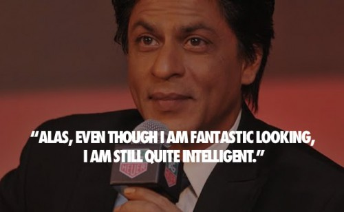 SRK Witty Quotes 12