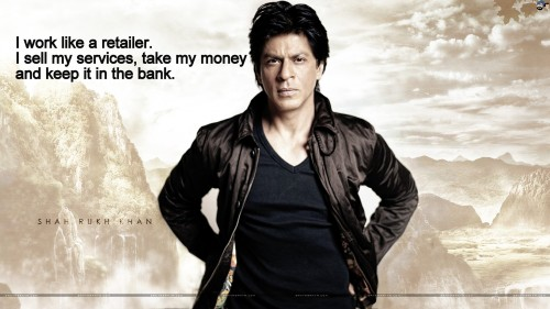 SRK Witty Quotes 17
