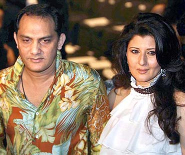 Sangeeta Bijlani and Mohammad Azharuddin - Bollywood Actresses and their Cricketer Link Ups