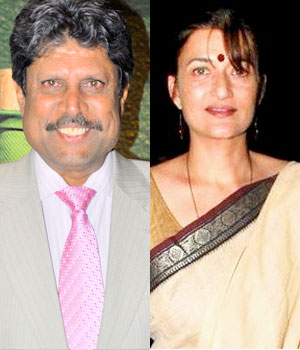 Sarika and Kapil Dev - Bollywood Actresses and their Cricketer Link Ups