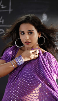 Vidya Balan Weight Gain for Movie Role