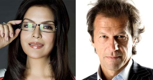 Zeenat Aman and Imran Khan- Bollywood Actresses and their Cricketer Link Ups