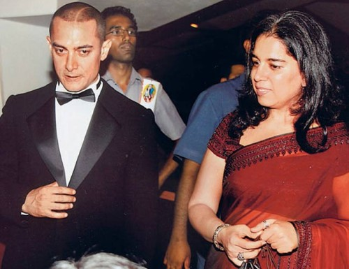 Aamir Khan and Reena