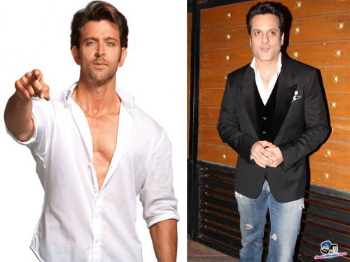 Hrithik Roshan and Fardeen Khan