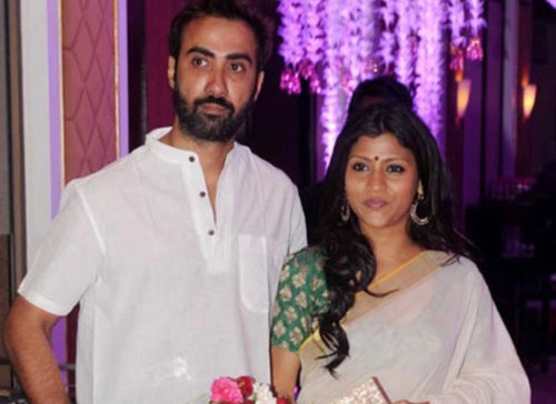 Konkana and Ranvir Shorey