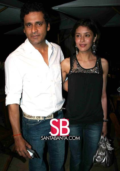 Manoj Bajpayee and Neha