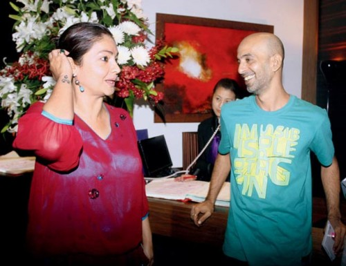 Pooja Bhatt and Munish