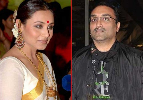 Rani Mukherji and Aditya Chopra