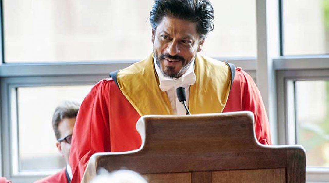 20 Life Lessons from Shah Rukh Khan's Speech at Edinburgh