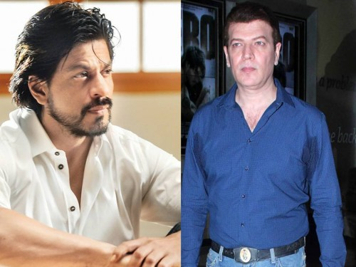 Shah Rukh Khan and Aditya Pancholi
