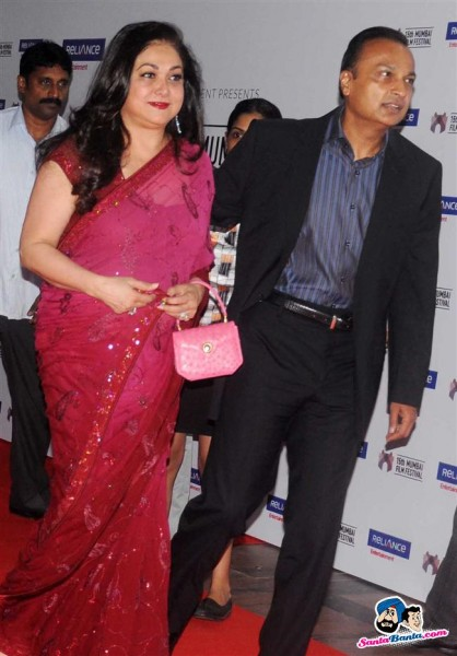Tina Munim and Anil Ambani
