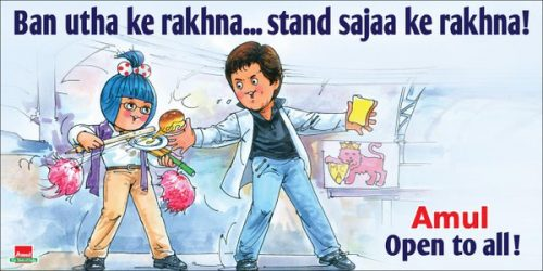 Amul MCA ends feud with SRK