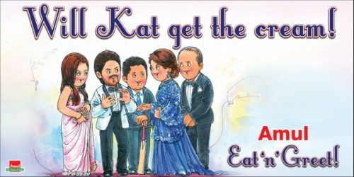 Amul Red carpet treatment for royalty