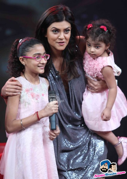 Sushmita Sen daughters